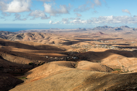 Morro Velosa Pointview -  unique views over the wonderful landscape of the north-central region of the island.  Fuerteventura , Canary Island, Spain