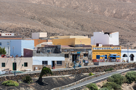 canary: Ajuy village, Fuerteventura, Canary islands, Spain Editorial