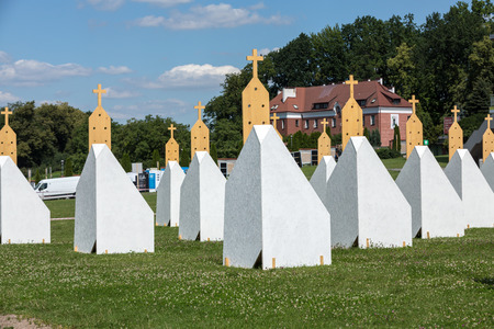 zones: Zones of Reconciliation at the Sanctuary of Divine Mercy in Lagiewniki. Cracow. Poland