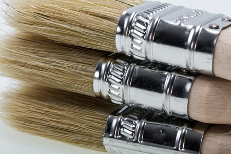 redecorating: Paint brush isolated on a white background