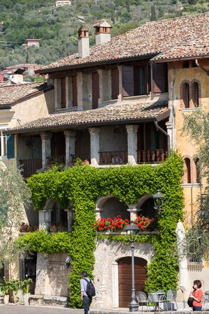 torri: Torri del Benaco at Garda Lake in Italy Editorial