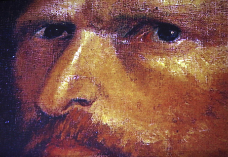 The exhibition Van Gogh Alive – The Experience at The Old Train Station in Krakow. Poland Editoriali