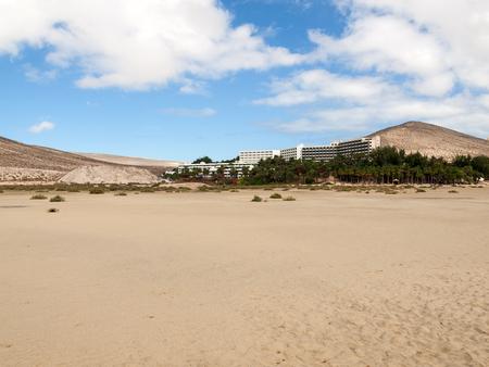 playa: Beach Playa de Sotavento, Canary Island Fuerteventura, Spain Editorial