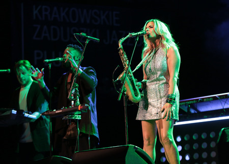 all souls' day: Candy Dulfer live on stage in ICE Cracow, Poland
