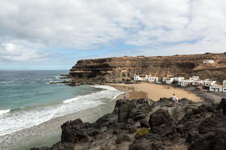 Puertito de los Molinos is a small village on Fuerteventura almost built on the beach