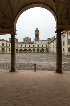 ducale: Palazzo Ducale on Piazza Castello in Mantua - Italy