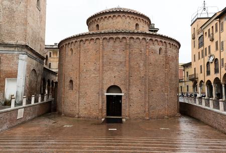 lorenzo: Rotonda di San Lorenzo in Mantua. Italy Stock Photo