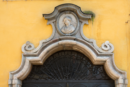 amadeus mozart: Birthplace of Wolfgang Amadeus Mozart in Salzburg, Austria