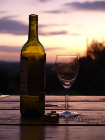 ethos: Good wine makes a beautiful sunset