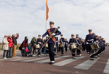 happening: NOORDWIJK, NETHERLANDS - 22 APRIL 2017: the traditional flowers parade Bloemencorso from Noordwijk to Haarlem in the Netherlands.