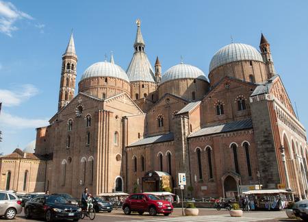 PADUA, ITALY - MAY 3, 2016: Basilica di SantAntonio da Padova, in Padua, Italy Editorial