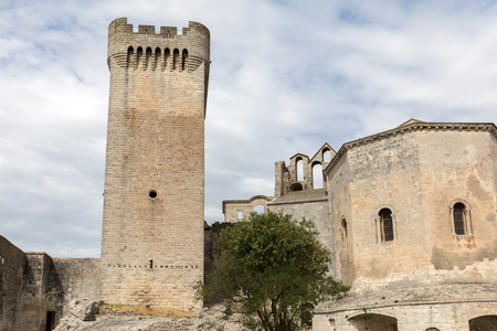Abbey of St. Peter in Montmajour near Arles, France