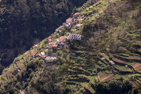 Valley of the Nuns, Curral das Freiras on Madeira Island, Portugal Imagens - 124758213