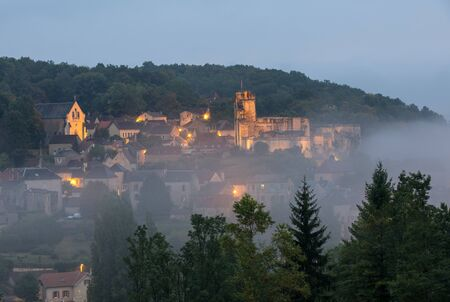 The Village of Carlux in Dordogne valley, Aquitaine,  France