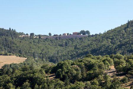 Landscape in the department of Vaucluse in Provence. France Reklamní fotografie