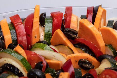 Ratatouille, French Provençal stewed vegetable dish originating in Nice