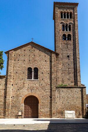 The Basilica of San Francesco in Ravenna. Emilia-Romagna, Italy