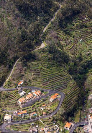 Valley of the Nuns, Curral das Freiras on Madeira Island, Portugal
