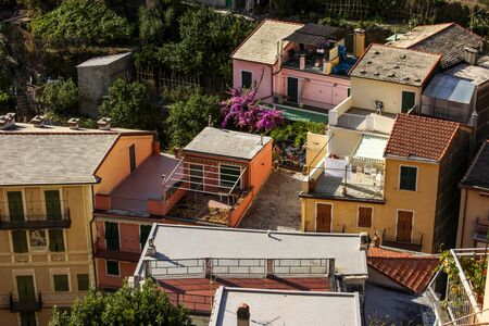 Manarola - one of the cities of Cinque Terre in Italy 写真素材