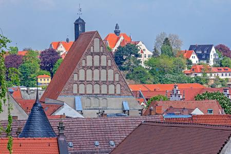 Roofs of Meissen Stock fotó