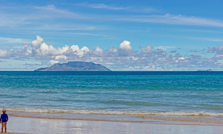 Dream beach in the Seychelles