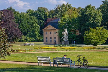 Great garden in Dresden