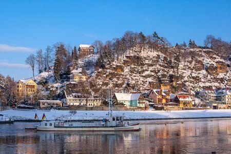 Rathen in winter