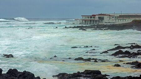 Surf on Tenerife Stock Photo