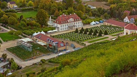 Winery in Radebeul Stock Photo