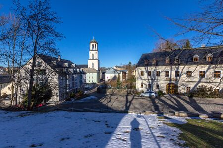 View of Auerbach Standard-Bild