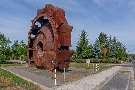 Bucket-wheel excavator in Welzow