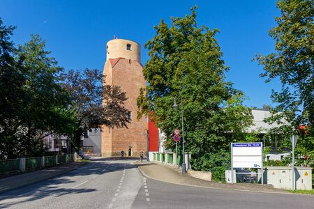 The Lubwart tower in summer