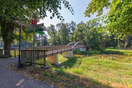 The bridge over the magpie