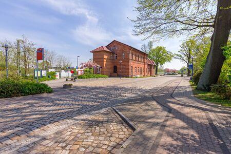 Railway station in Bad Liebenwerda