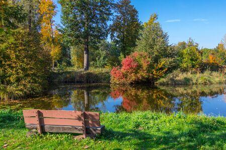October in the Grossenhain park