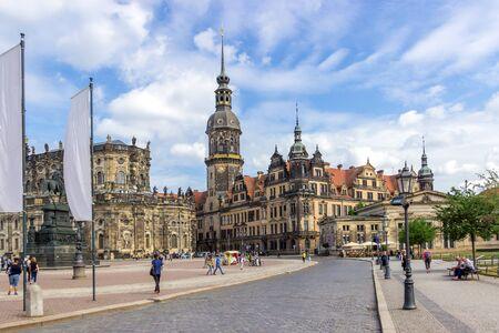 Castle in Dresden
