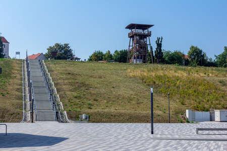 Shore facility at Geiseltalsee