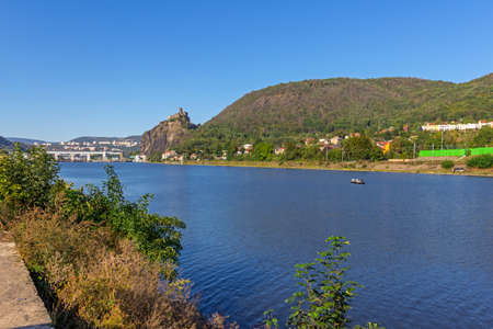 Reservoir of the Elbe Standard-Bild