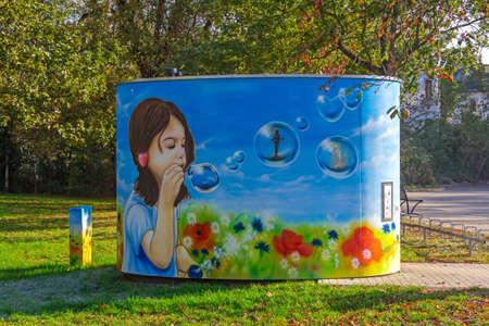 Painting in Bad Liebenwerda