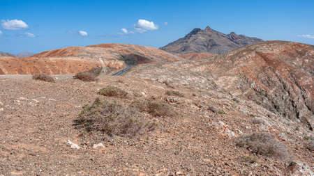 at the height of Fuerteventura Standard-Bild