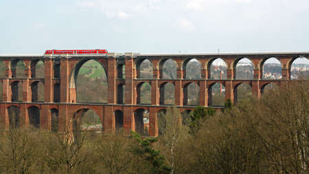 The largest brick bridge in the world in Saxony