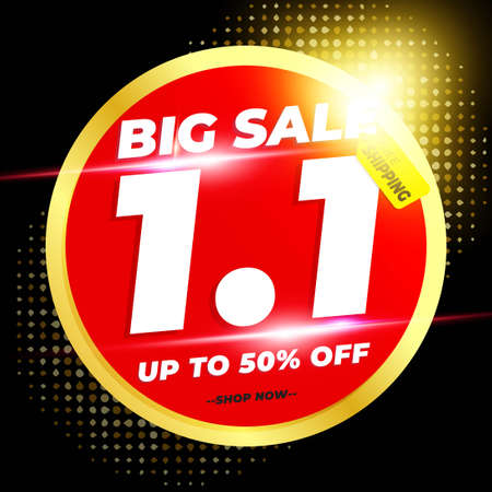 1.1 Shopping Day Sale Banner Promotion