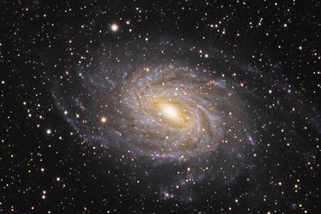 astroimage: Spiral Galaxy NGC6744 Stock Photo