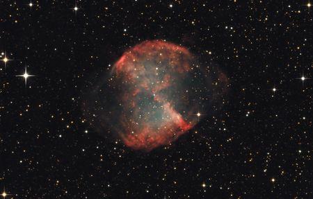 The Dumbbell Nebula M27