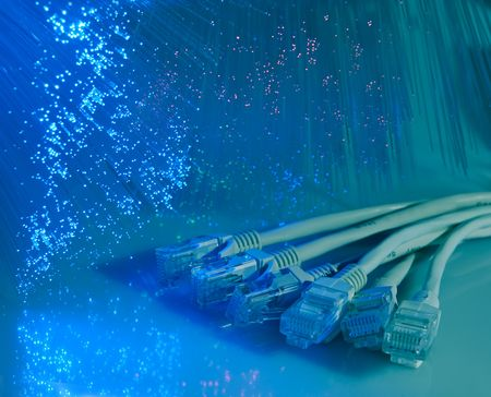 net cable connect to Internet  photo