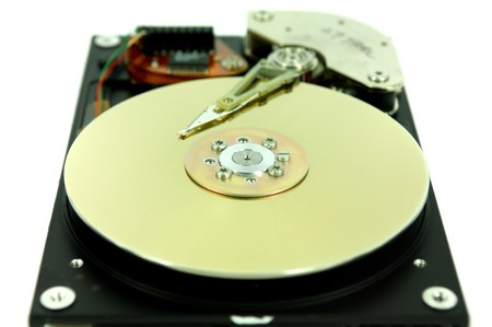 computer harddisk and heads Stock Photo - 7658615