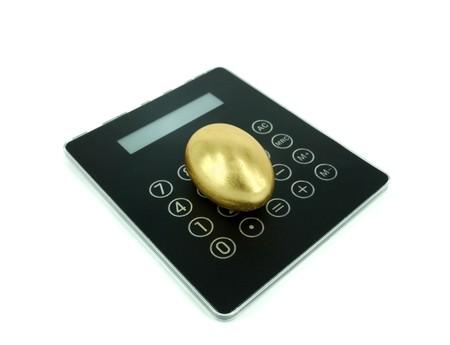 golden: Golden egg Stock Photo