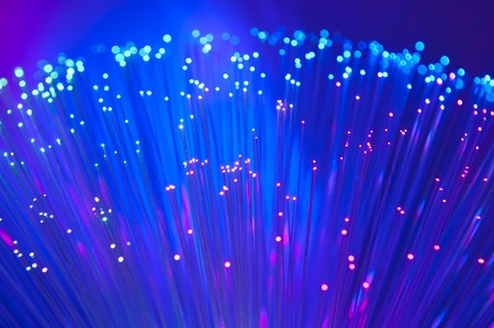 Internet technology fiber optic background Stock Photo - 8018206