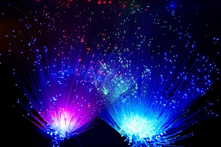 abstract Internet technology fiber optic background Stock Photo - 7520800