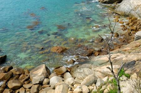 beautiful coastline  photo